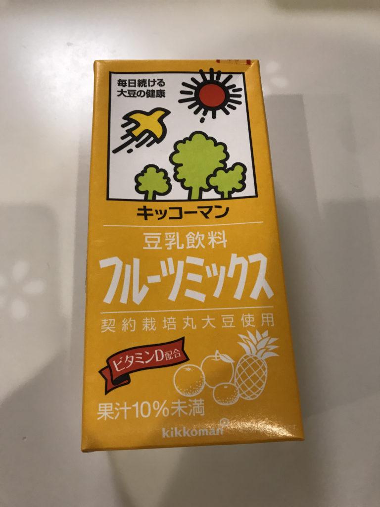 豆乳 フルーツミックス キッコーマン