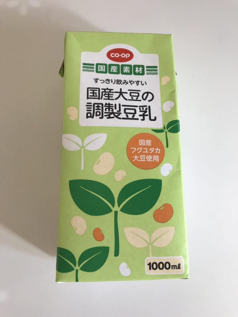 コープ 調製豆乳